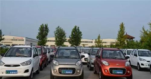 跃迪电动汽车批量发车四川 跃迪 品质如一,初心恒在高清图片