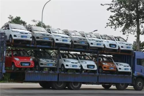 跃迪电动汽车批量发车四川——跃迪·品质如一,初心恒