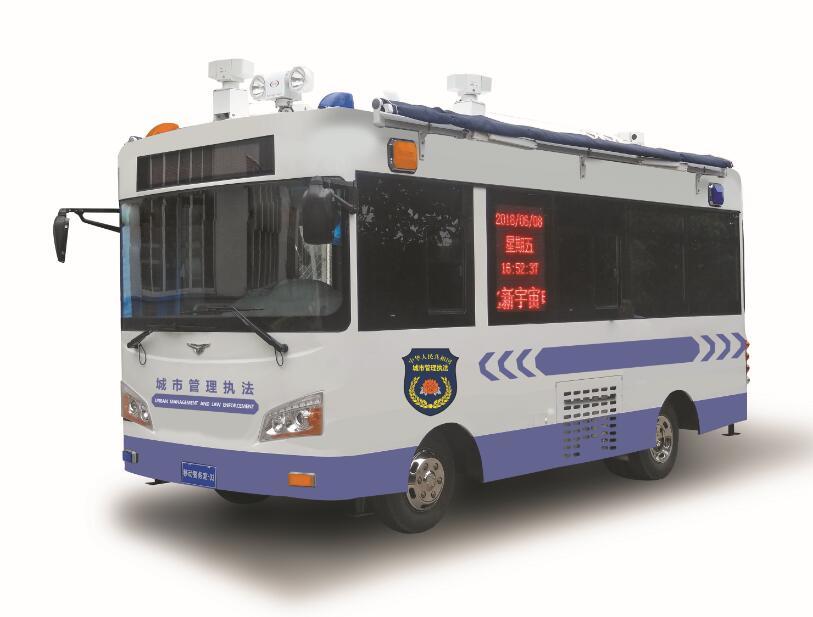 燃油助力城市管理执法车