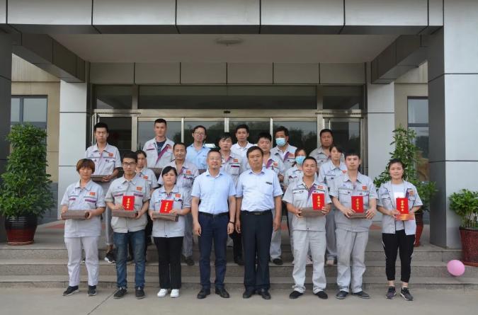 激情飞扬 跃迪集团旗下河北新宇宙2020年度员工趣味运动会成功举办